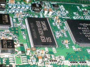 old hard-disc's mother board